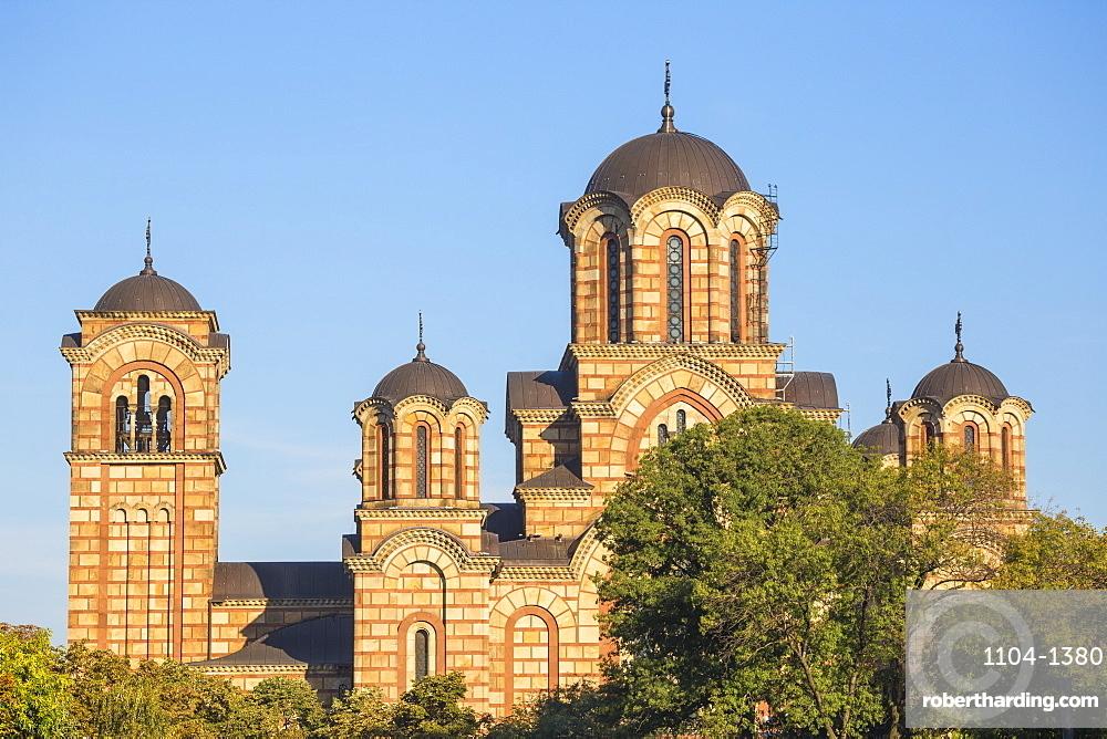 St. Mark's Church, Tasmajdan Park, Belgrade, Serbia, Europe