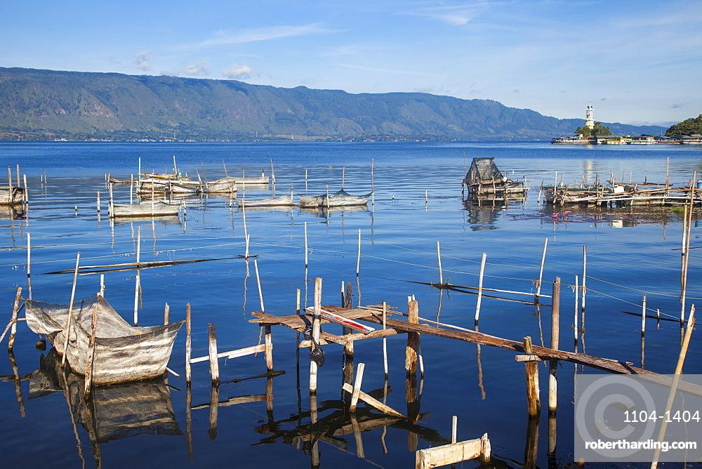 Lake Toba, Parapat, Samosir Island, Sumatra, Indonesia, Southeast Asia, Asia
