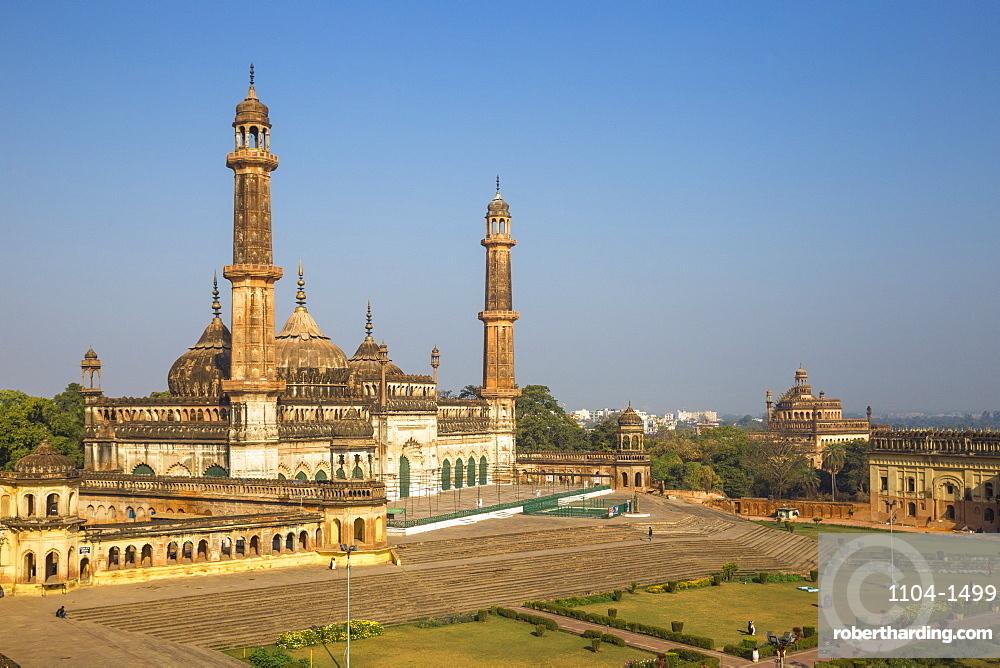 India, Uttar Pradesh, Lucknow, Asifi Mosque at Bara Imambara complex