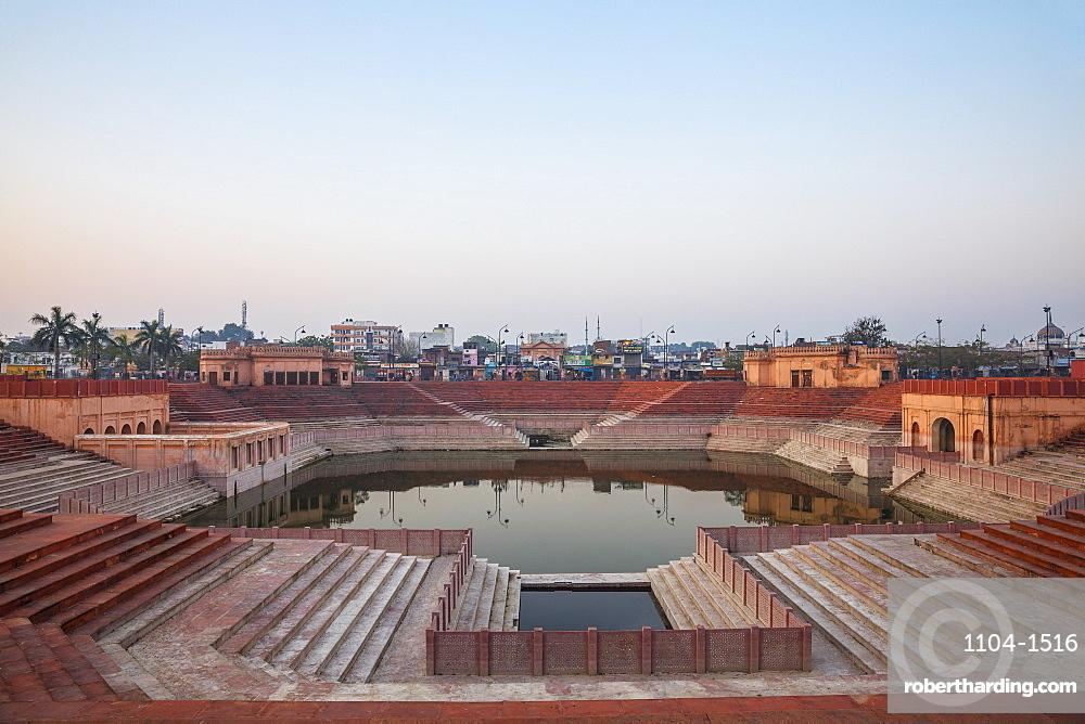 India, Uttar Pradesh, Lucknow, Hussainabad Pond