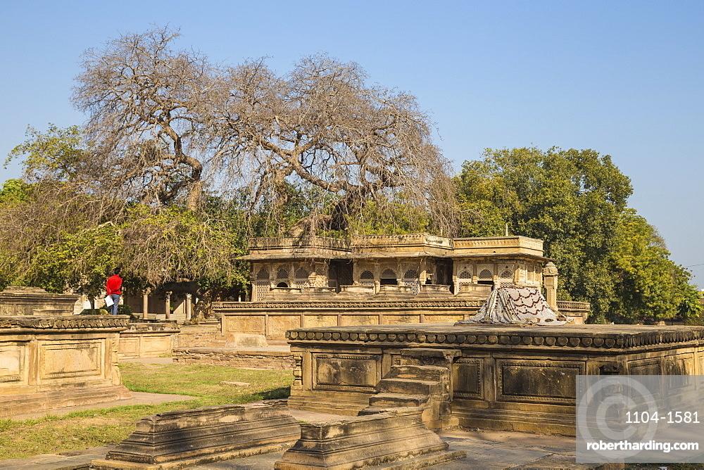 India, Madhya Pradesh, Gwalior, Ghaus Mohammed's Tomb