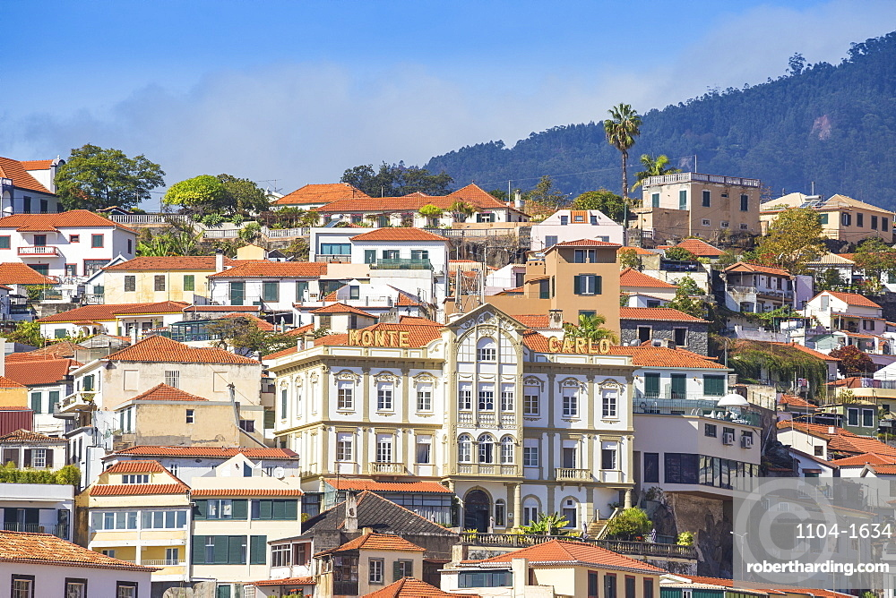 View of city, Funchal, Madeira, Portugal, Atlantic, Europe
