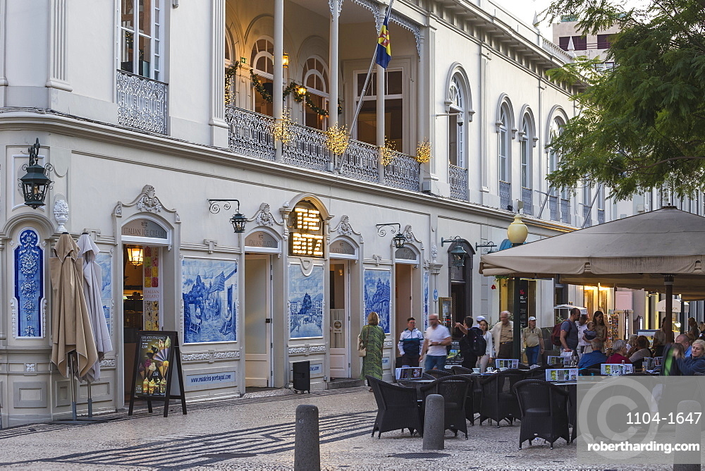 Ritz cafe, Funchal, Madeira, Portugal, Atlantic, Europe