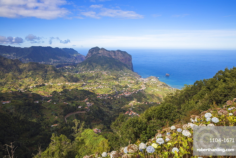 Portela viewpoint, Madeira, Portugal, Atlantic, Europe