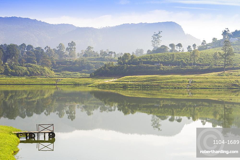 Gregory Lake, Nuwara Eliya, Central Province, Sri Lanka, Asia