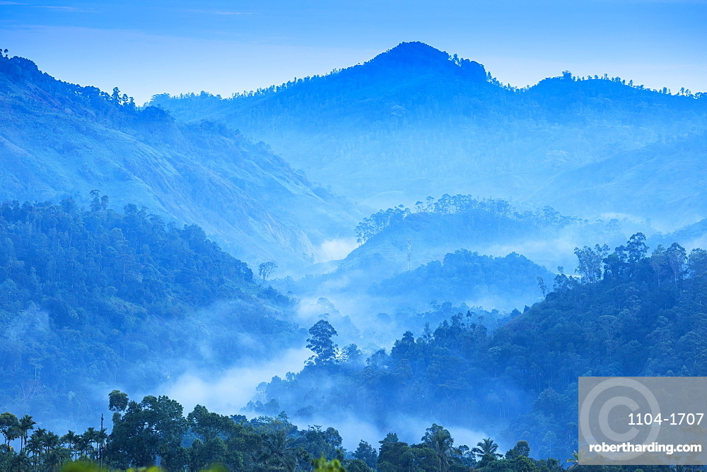 Sri Lanka, Ella, Mountain views