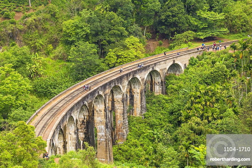 Sri Lanka, Ella, Nine Arches bridge
