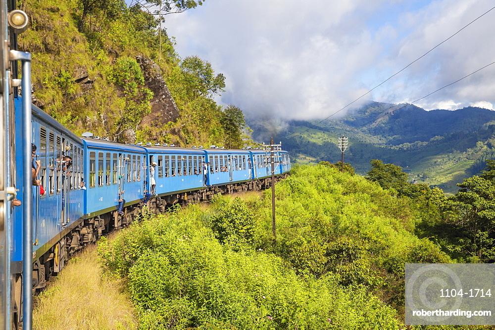 Sri Lanka, Nuwara Eliya, Kandy to Badulla train