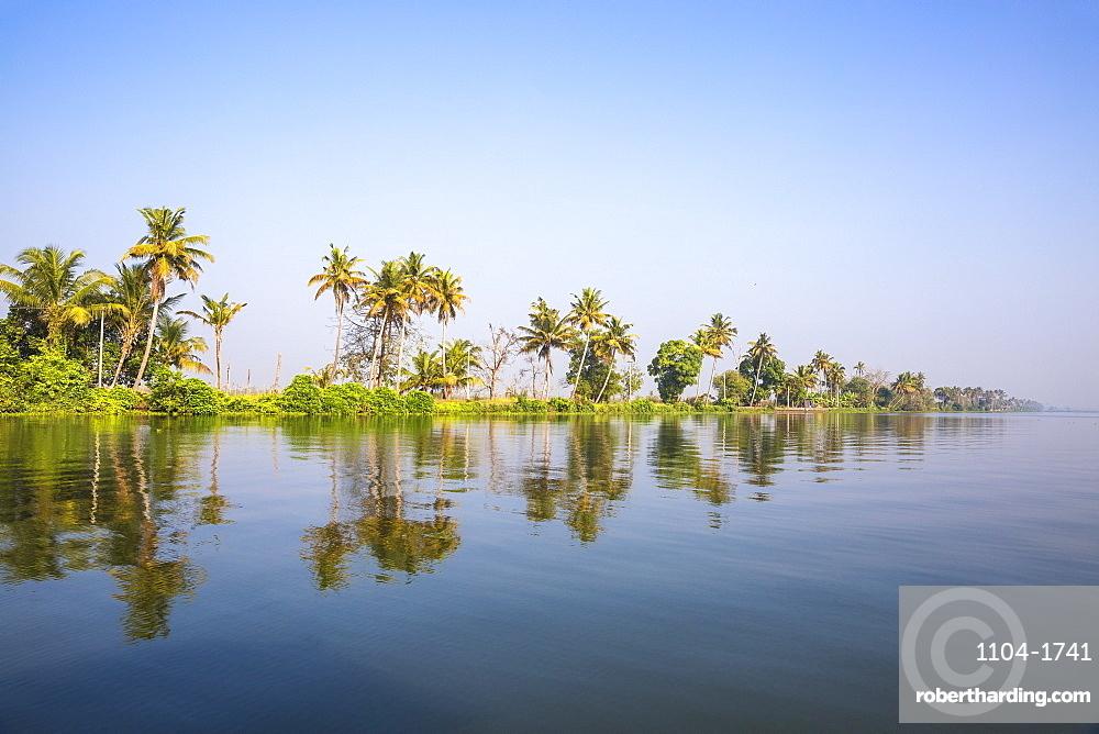 India, Kerala, Alappuzha (Alleppey), Backwaters