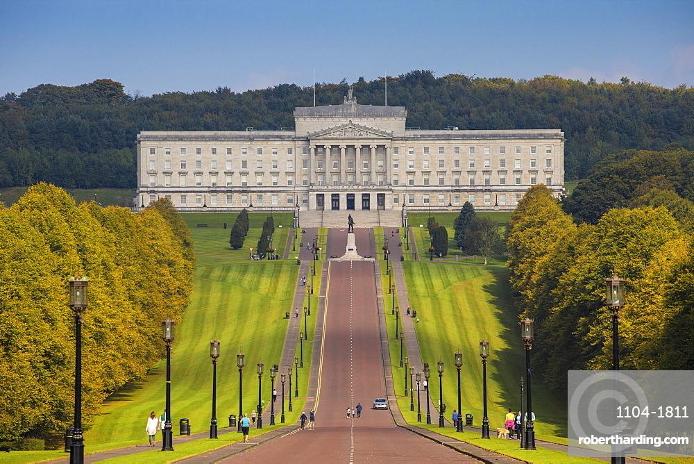 Stormont Parliament Buildings, Belfast, Ulster, Northern Ireland, United Kingdom, Europe