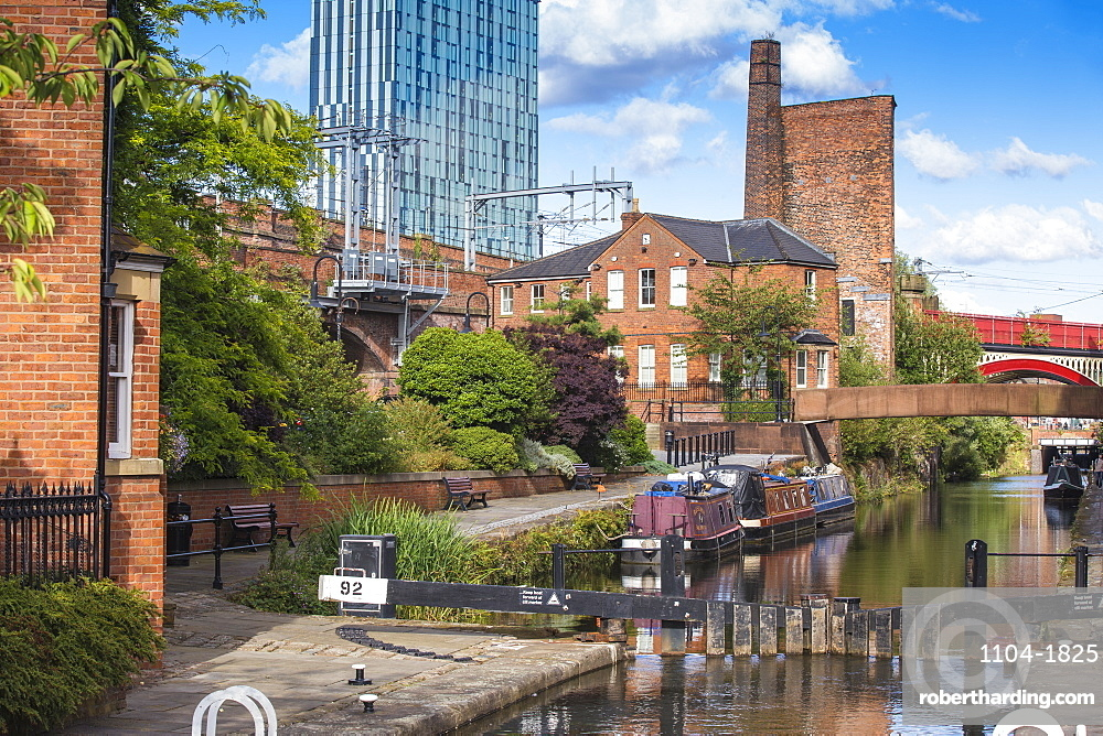 Deansgate, 1761 Bridgewater Canal, Manchester, Greater Manchester, England, United Kingdom, Europe