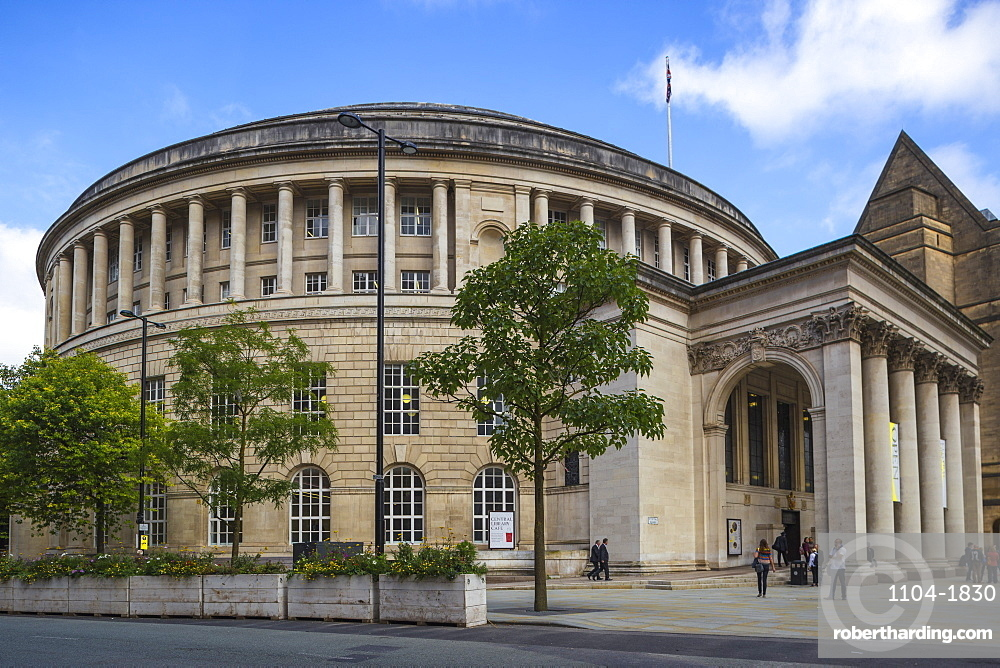 Manchester Central Library, Manchester, England, United Kingdom, Europe