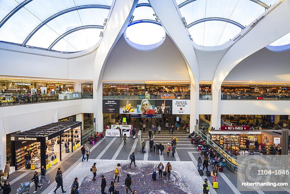 Birmingham New Street Grand Central Station, Birmingham, West Midlands, England, United Kingdom, Europe