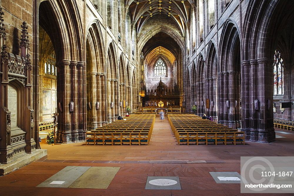 Chester Cathedral, Chester, Cheshire, England, United Kingdom, Europe