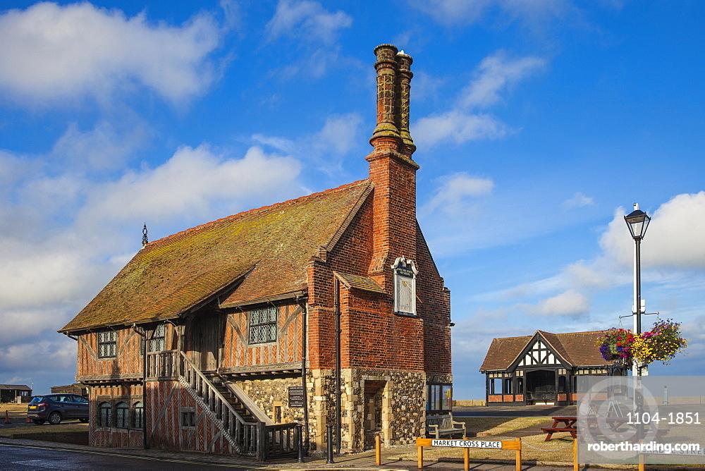 The Moot Hall, Aldeburgh, Suffolk, England, United Kingdom, Europe