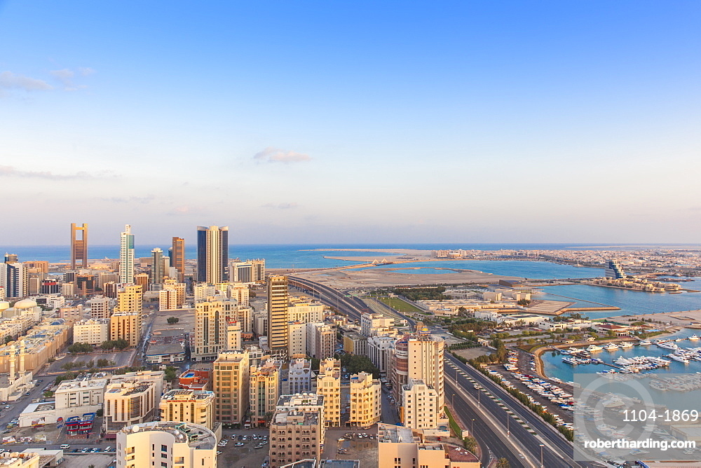 Bahrain, Manama, City skyline