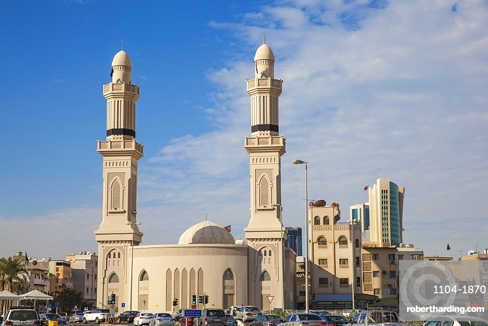 Bahrain, Manama, City Center, Ras Ruman Mosque