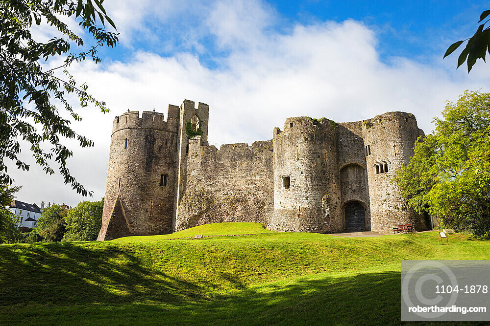 Chepstow Castle, Chepstow, Monmouthshire, Wales, United Kingdom, Europe