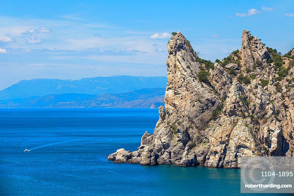 Ukraine, Crimea, Novy Svit, Novy Svit Botanical Reserve