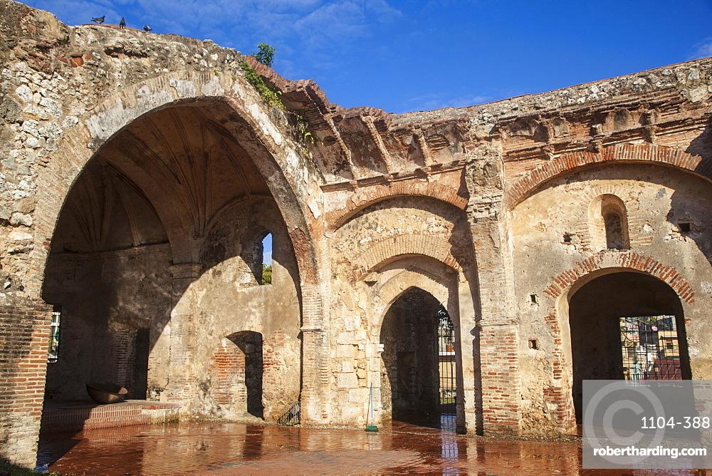 Monasterio De San Francisco, Colonial Zone, UNESCO World Heritage Site, Santo Domingo, Dominican Republic, West Indies, Caribbean, Central America