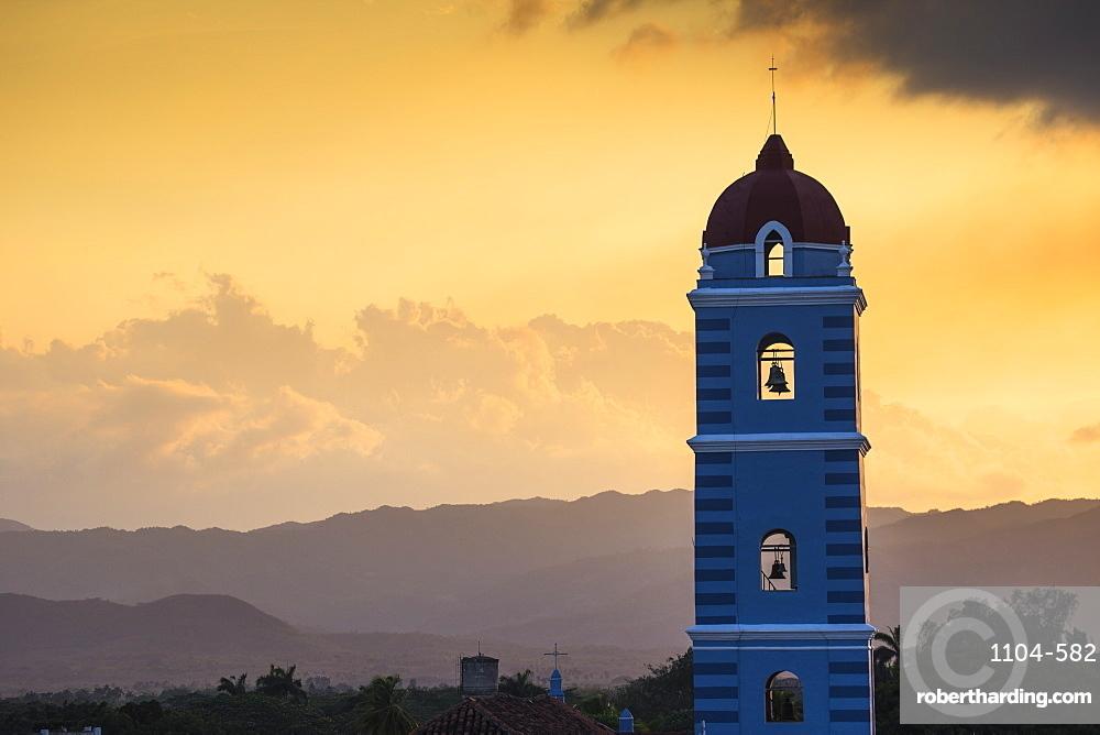 Iglesia Parroquial Mayor del Espiritu Santo (Parish Church of the Holy Spiritus), Sancti Spiritus, Sancti Spiritus Region, Cuba, West Indies, Caribbean, Central America