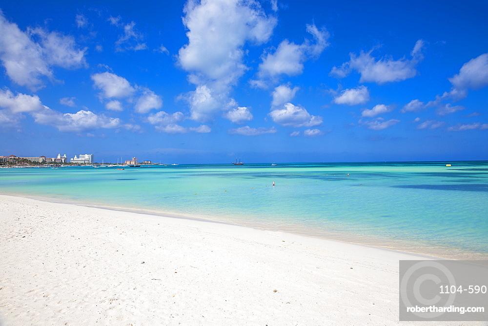 Palm Beach, Aruba, Lesser Antilles, Netherlands Antilles, Caribbean, Central America