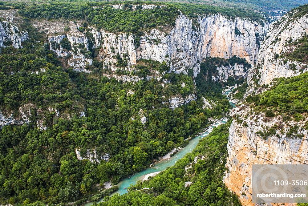 Verdon Gorge (Grand Canyon du Verdon), Alpes de Haute Provence, South of France, France