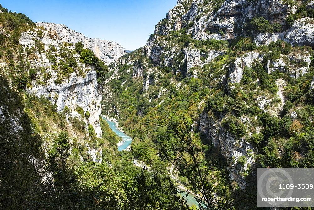 Verdon Gorge (Grand Canyon du Verdon), Alpes de Haute Provence, South of France, Europe