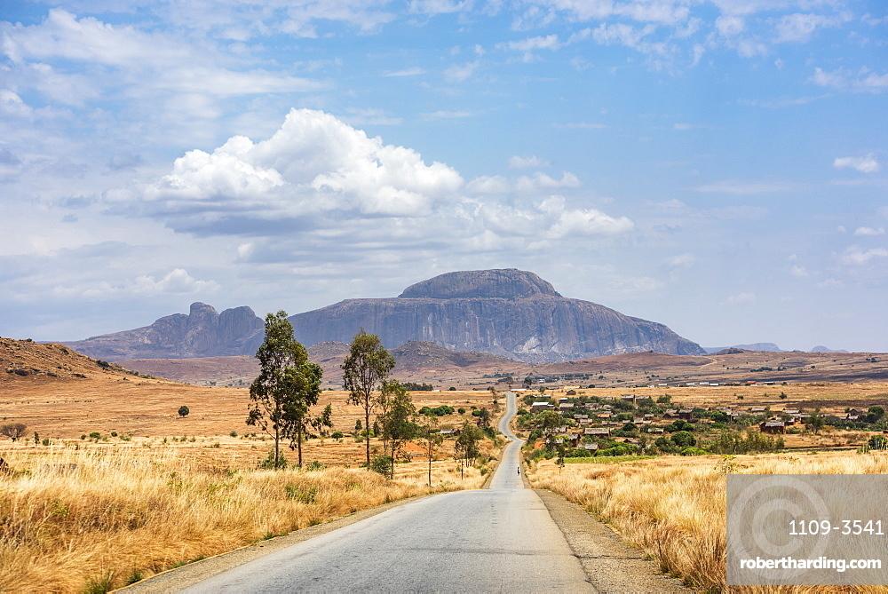 Mountains near Ambalavao, Haute Matsiatra Region, Madagascar, Africa