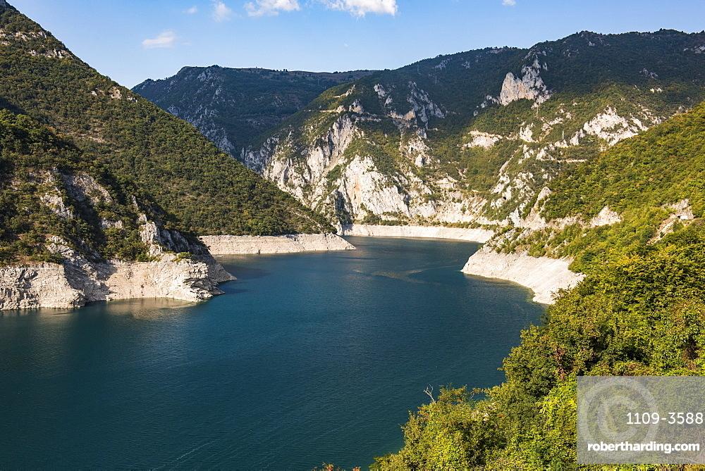 Tara River Canyon Gorge, Durmitor National Park, UNESCO World Heritage Site, Montenegro, Europe