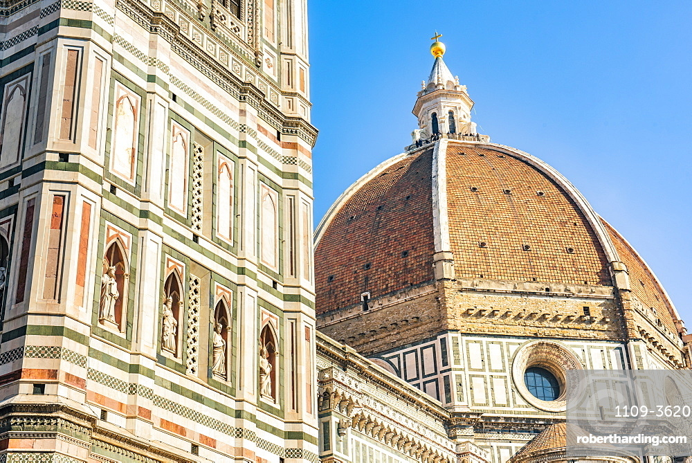Florence Cathedral (Duomo), Piazza del Duomo, UNESCO World Heritage Site, Florence, Tuscany, Italy, Europe