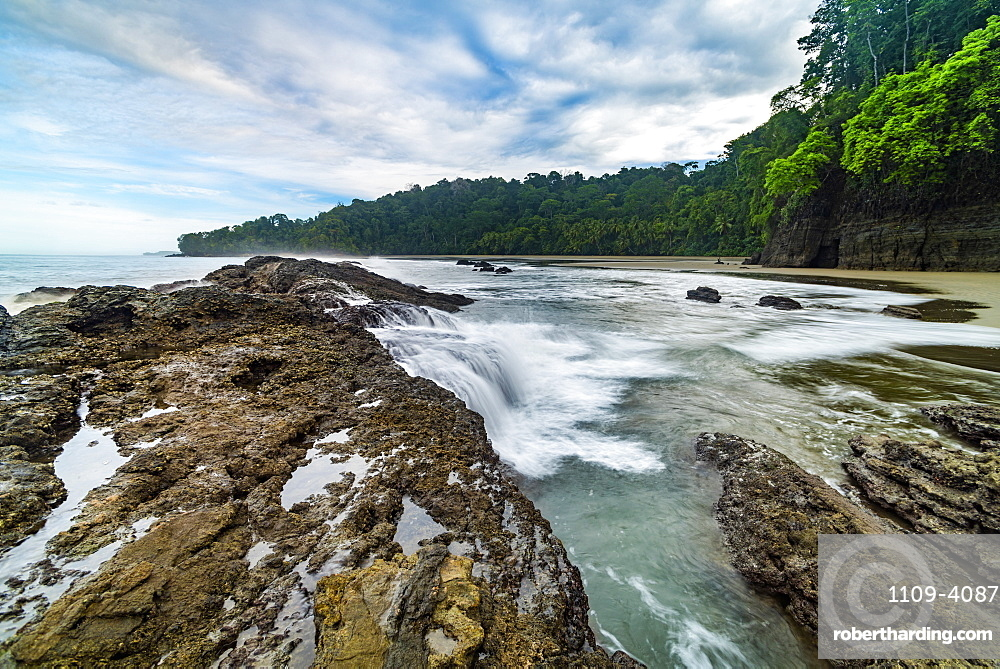 Playa Arco Beach, Uvita, Marino Ballena National Park, Puntarenas Province, Pacific Coast of Costa Rica, Central America