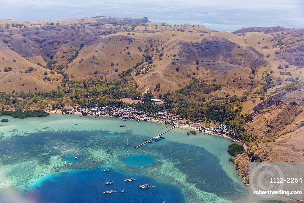 Harbor at Labuan Bajo, Flores Island, Indonesia, Southeast Asia, Asia