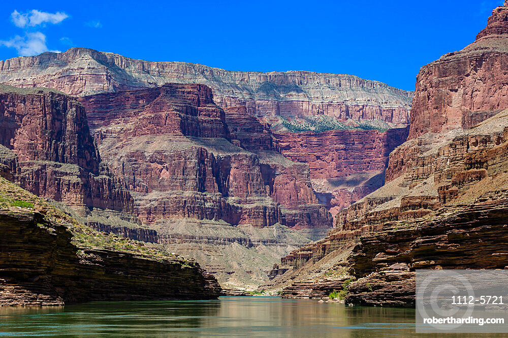 Floating down the Colorado River, Grand Canyon National Park, Arizona, USA, North America.