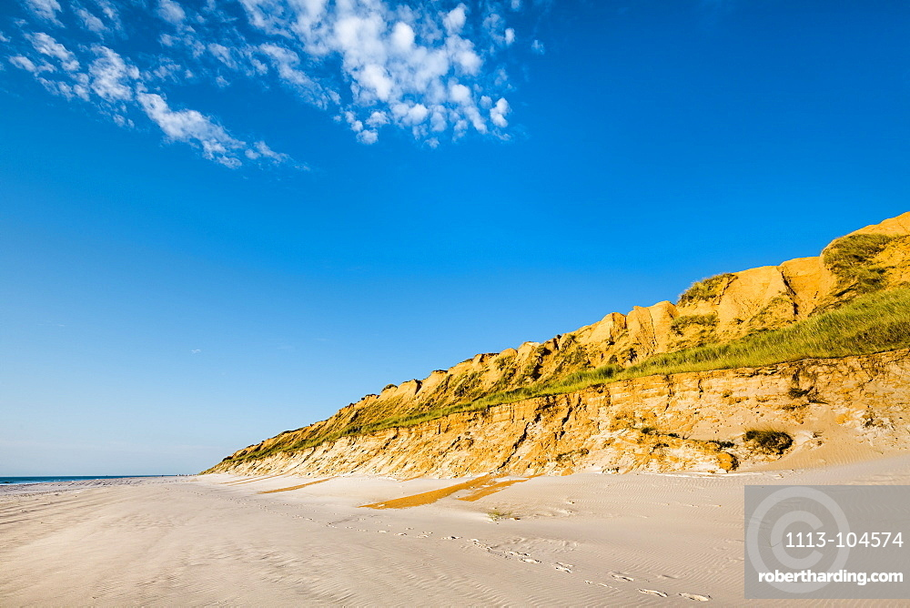 Red cliff, Kampen, Sylt Island, North Frisian Islands, Schleswig-Holstein, Germany