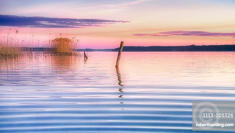 Sunrise at Lake Starnberg, Bavaria, Germany
