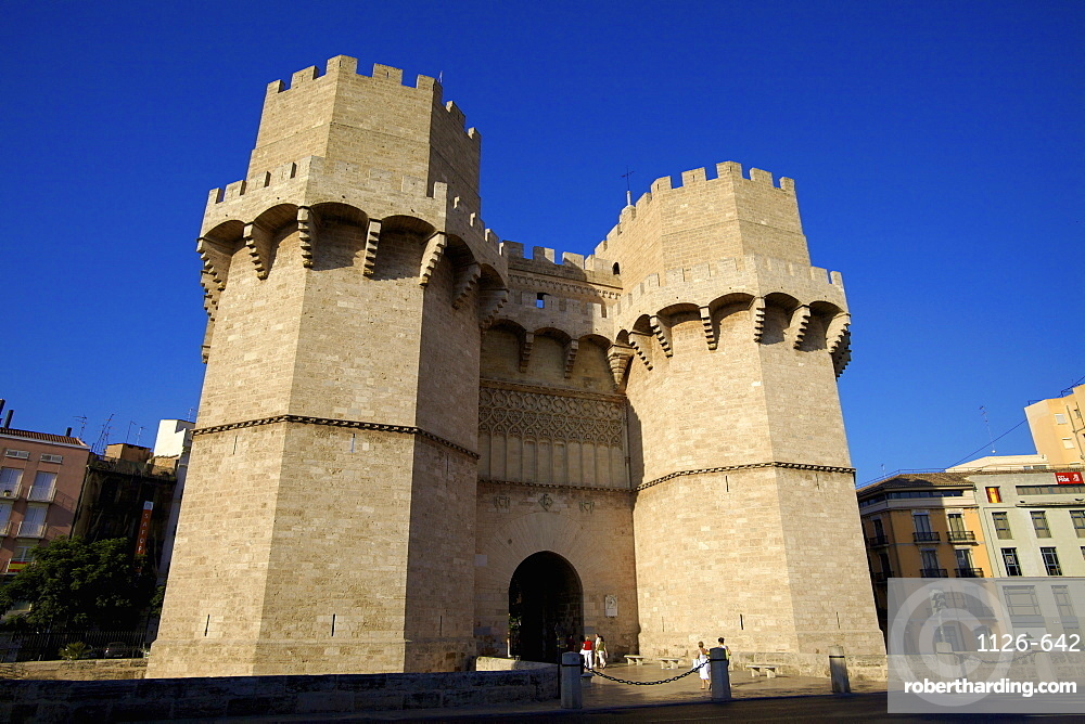 Torres De Serranos, Valencia, Spain, Europe