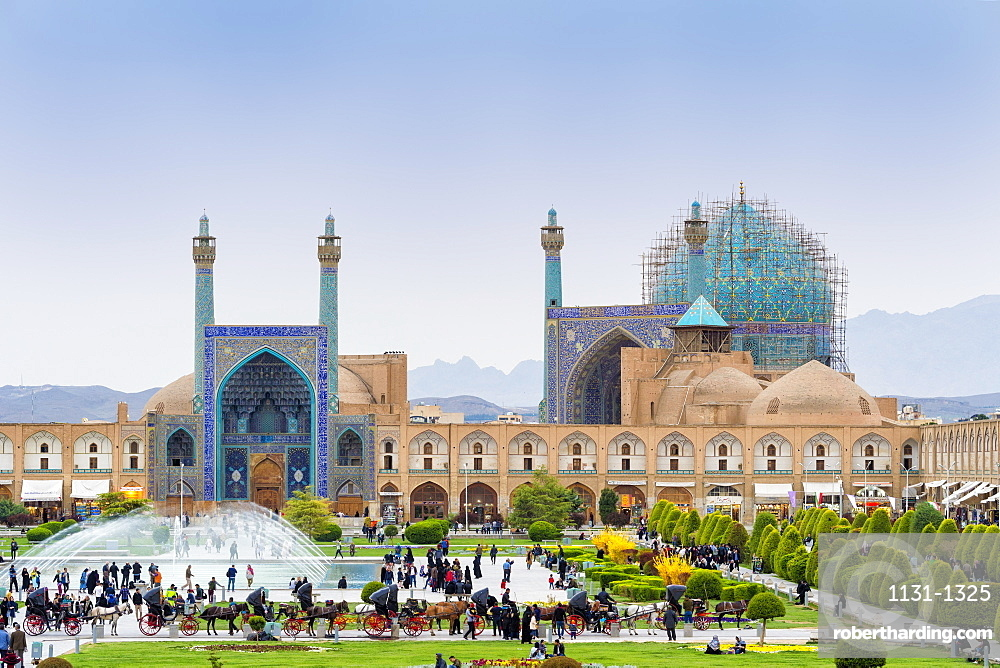 Masjed-e Imam Mosque, Maydam-e Iman square, UNESCO World Heritage Site, Esfahan, Iran, Middle East
