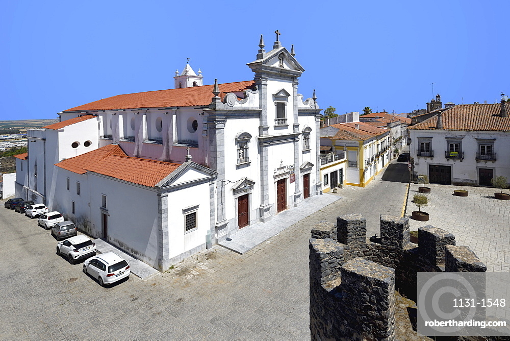 Beja Cathedral (Cathedral of St. James the Great), Lidador square, Beja, Alentejo, Portugal