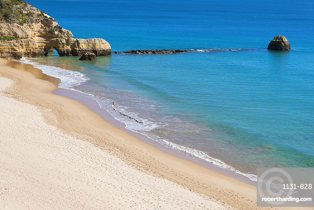 Praia dos Tres Castelos, Portimao, Algarve, Portugal, Europe