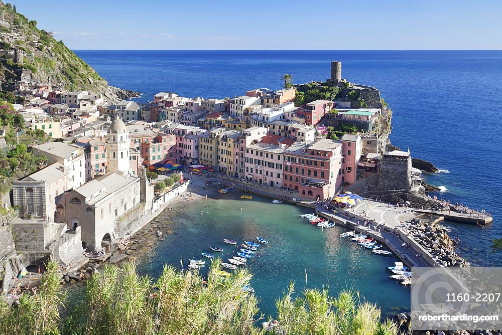 Vernazza, Cinque Terre, UNESCO World Heritage Site, Riviera di Levante, Province of La Spazio, Liguria, Italy, Europe