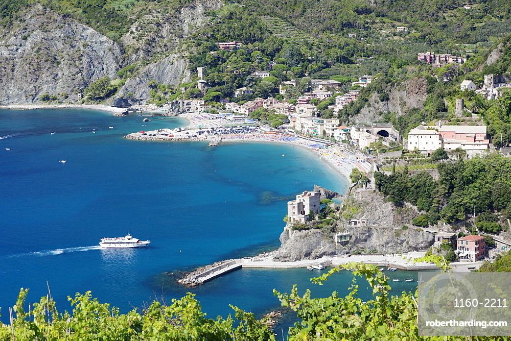Monterosso al Mare, Cinque Terre, UNESCO World Heritage Site, Riviera di Levante, Provinz La Spazia, Liguria, Italy, Europe