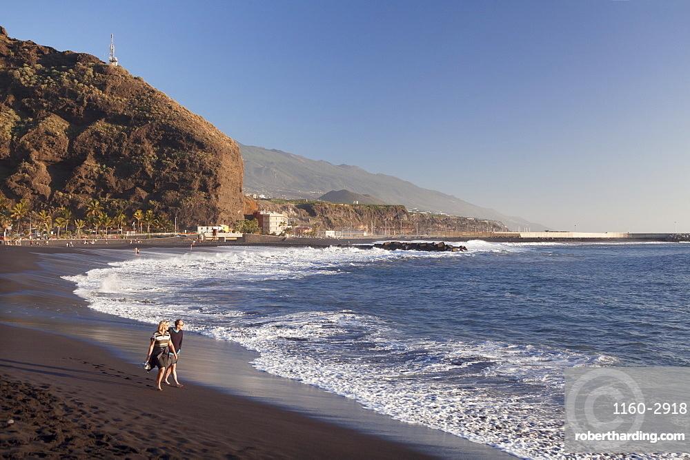 Playa del Puerto Beach, Puerto de Tazacorte, La Palma, Canary Islands, Spain, Atlantic, Europe