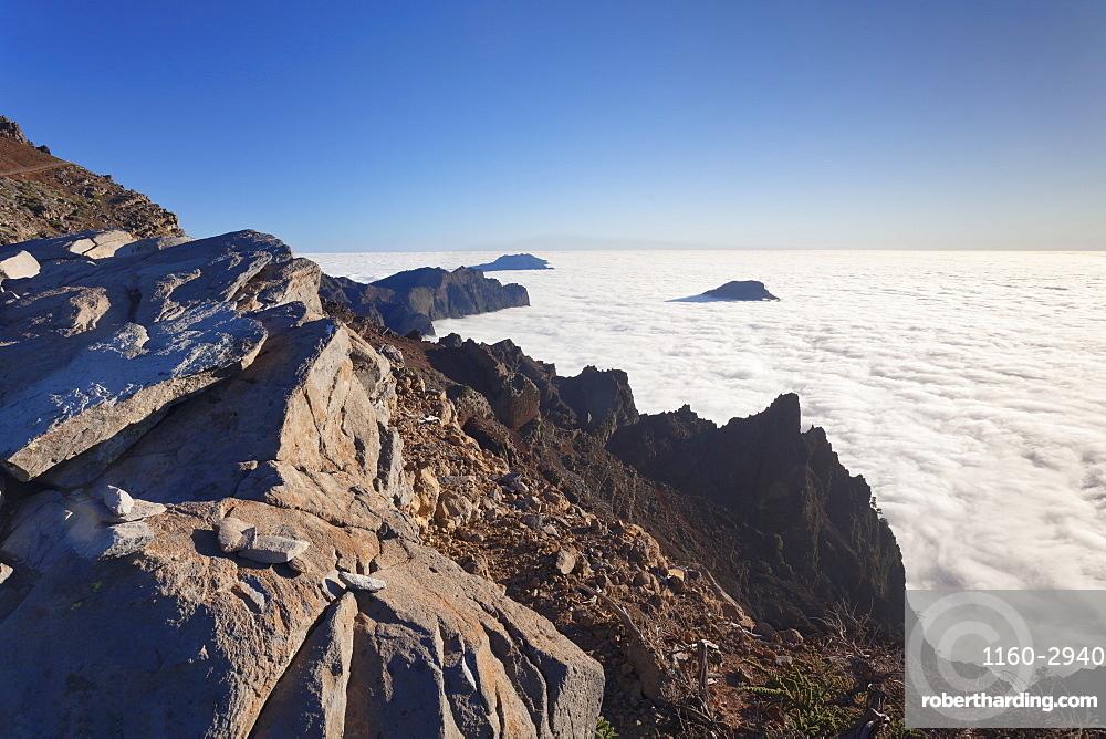 Caldera de Taburiente, Parque Nacional de la Caldera de Taburiente, UNESCO Biosphere Reserve, La Palma, Canary Islands, Spain, Europe