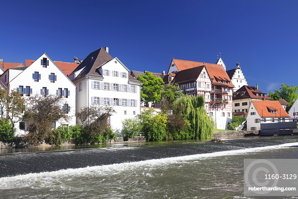 Riedlingen, Danube River, Upper Swabia, Baden-Wurttemberg, Germany, Europe