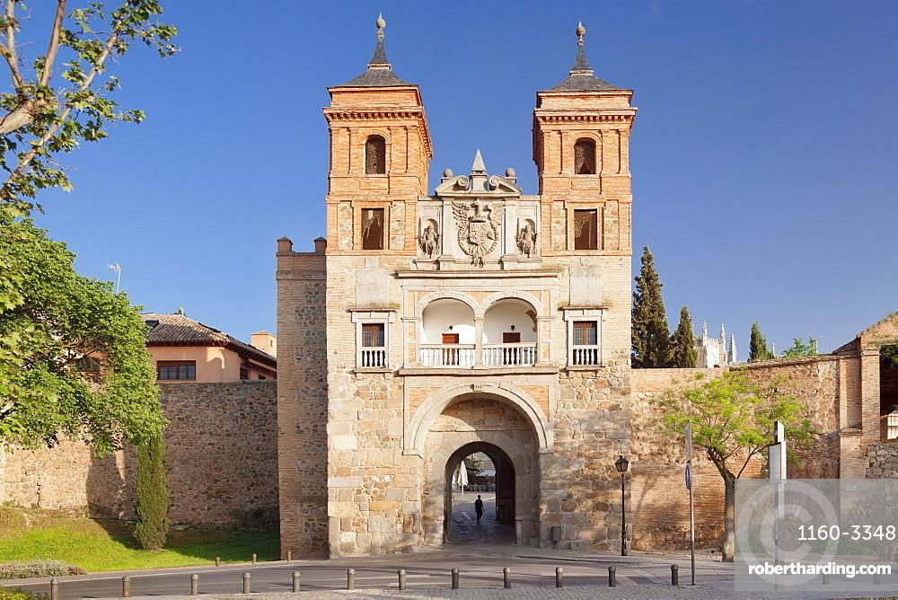 Puerta del Cambron (Cambron Gate), Toledo, Castilla-La Mancha, Spain, Europe