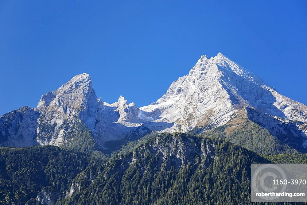 Watzmann mountain in Berchtesgaden, Germany, Europe
