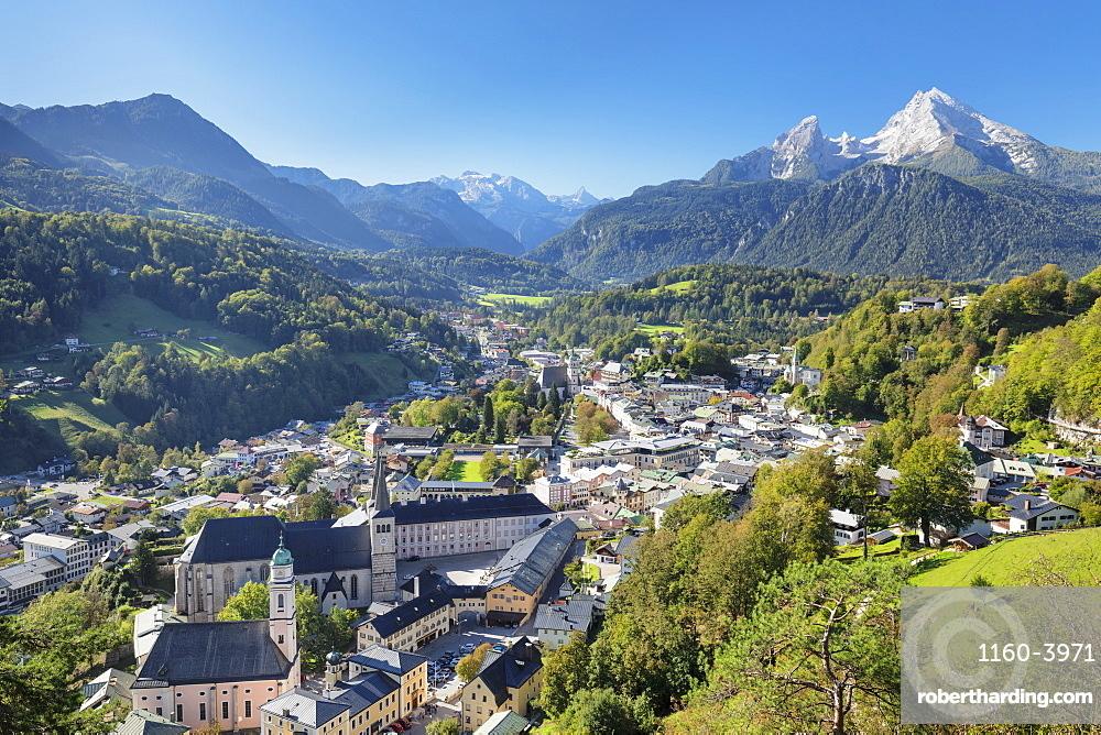 Mountainous landscape of Berchtesgaden in Germany, Europe