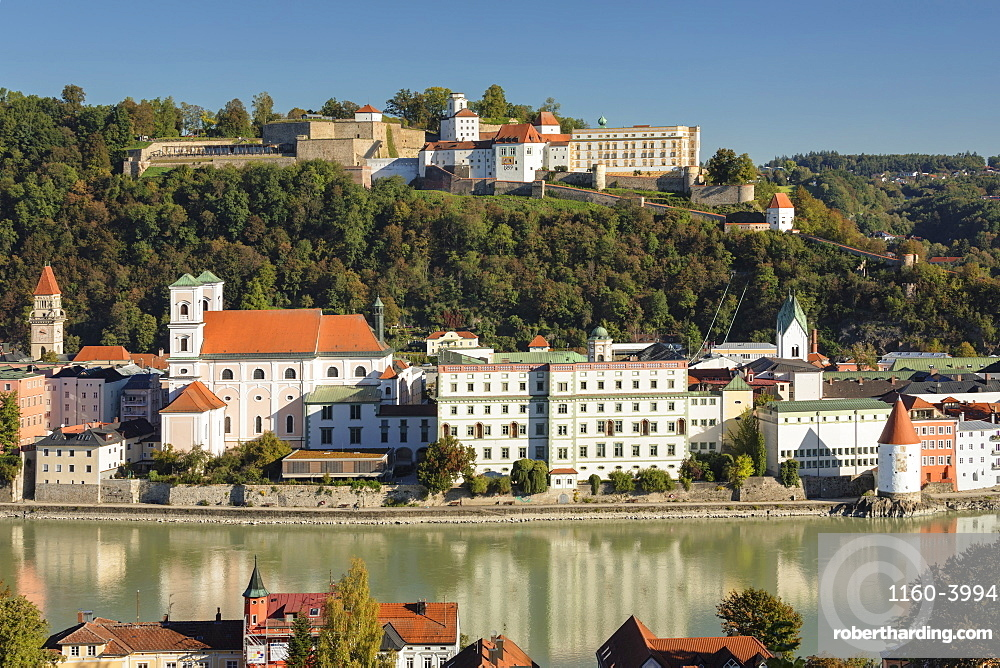 Old town of Passau, Germany, Europe