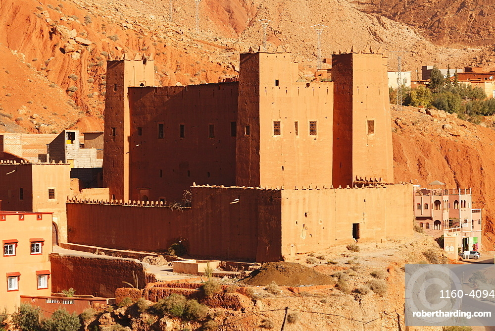 Ait Youl Kasbah, Dades Valley, Atlas Mountains, Southern Morocco, Morocco, North Africa, Africa